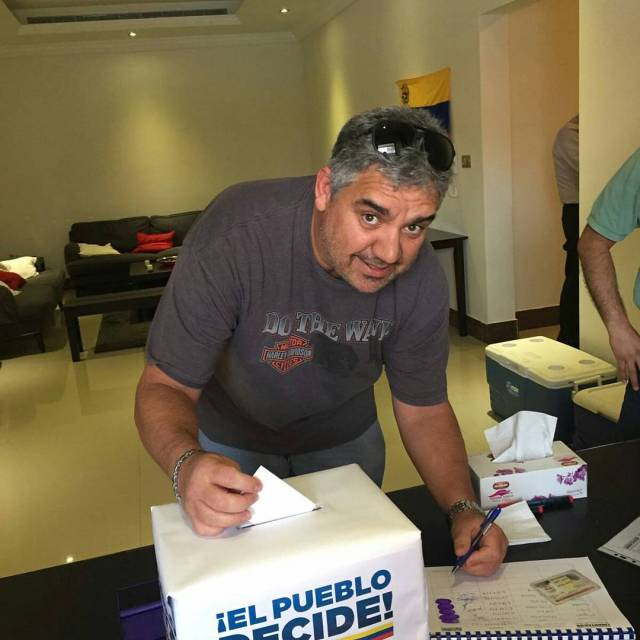 Foto: Venezolanos en Australia participan en la Consulta Popular / Cortesía