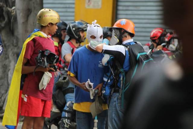 Los esbirros hicieron de Bello Campo un verdadero espacio de represión. Foto: Régulo Gómez / La Patilla.com