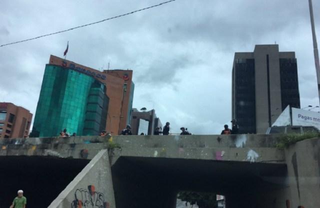 GN listo para la represión // Foto @danizambrano22