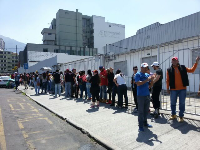 Venezolanos abarrotaron la ciudad de Quito en Ecuador. Foto: Jonathan Gutiérrez
