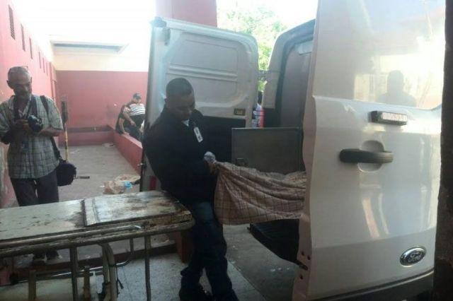Cadáver en una furgoneta / Foto: Panorama