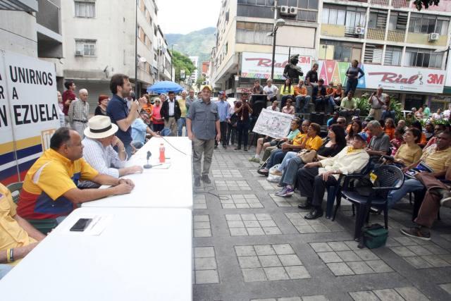 En Chacao se constituirán 200 comités en Rescate de la Democracia que, entre otras tareas, desobedecerá al gobierno de Maduro