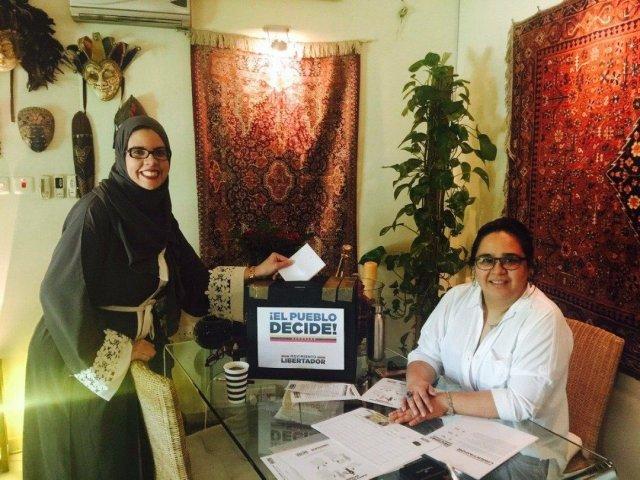 consulta popular Arabia Saudita