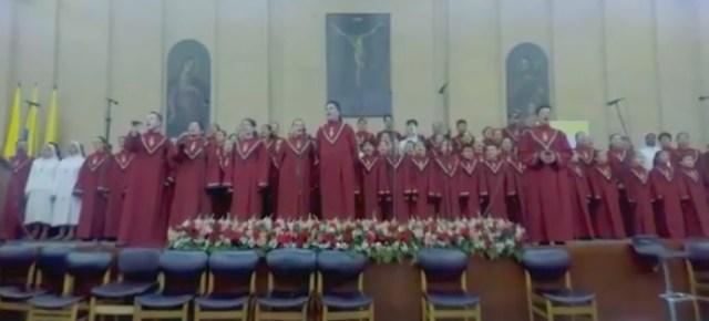 Foto: Este es el coro que le cantará al Papa Francisco en Colombia