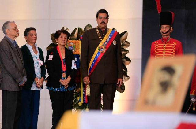 El presidente de la República, Nicolás Maduro se pronunció en torno a la Consulta Popular . Foto: AVN