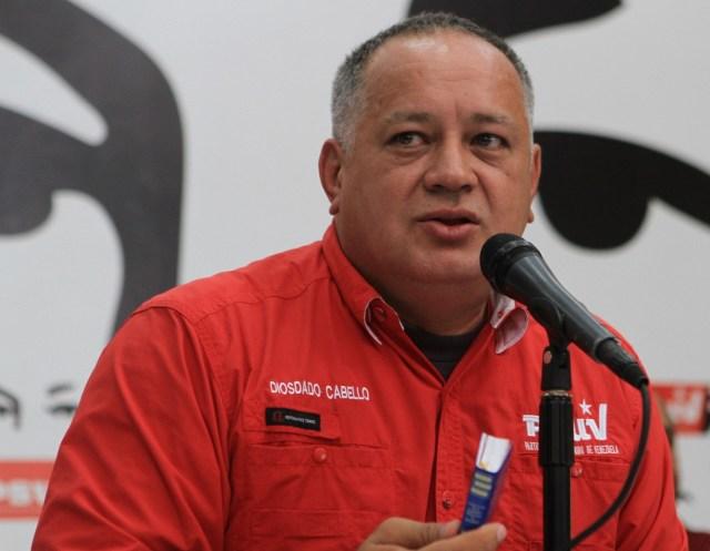 El constituyente Diosdado Cabello