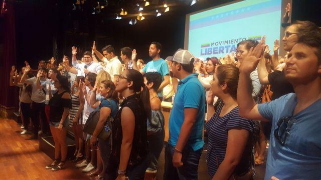 juramentación voluntarios Madrid