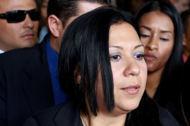 La vicefiscal designada por el Tsj, Katherine Haringhton (Foto Reuters)