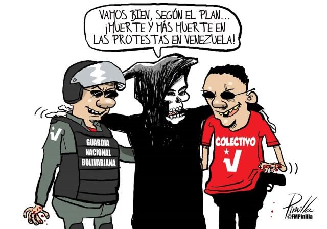 muertes protestas en venezuela