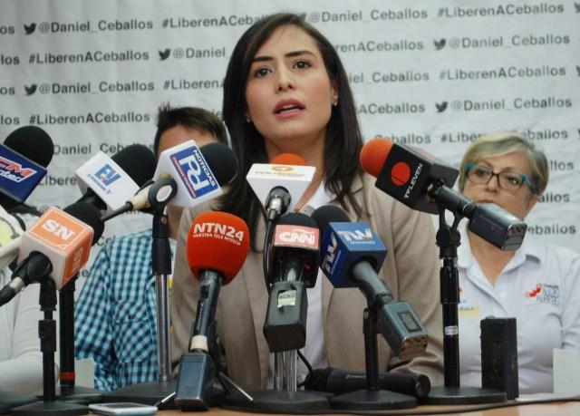 Patricia de Ceballos, alcaldesa de San Cristóbal, estado Táchira // Foto Prensa VP
