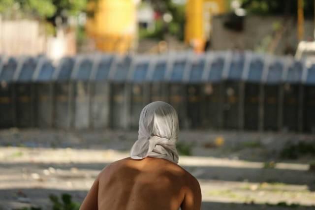 Los esbirros hicieron de Bello Campo un verdadero espacio de represión. Foto: Will Jiménez / LaPatilla.com