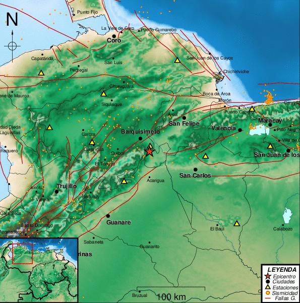 sismo Barquisimeto