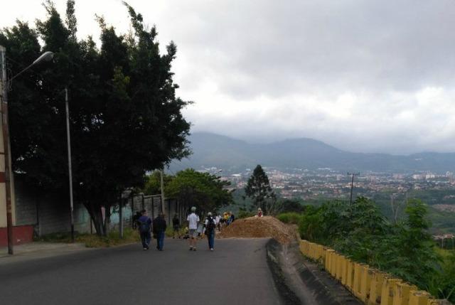 Foto: Trancazo en Táchira / Cortesía