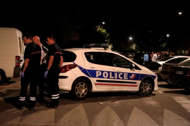 Policía de Francia / Foto: AFP