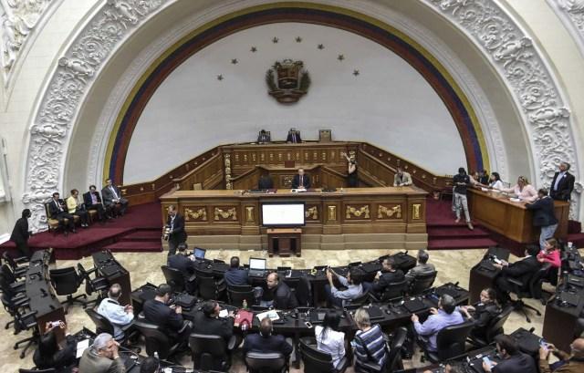 Sesión de la Asamblea Nacional (Foto archivo / AFP PHOTO / Juan BARRETO)