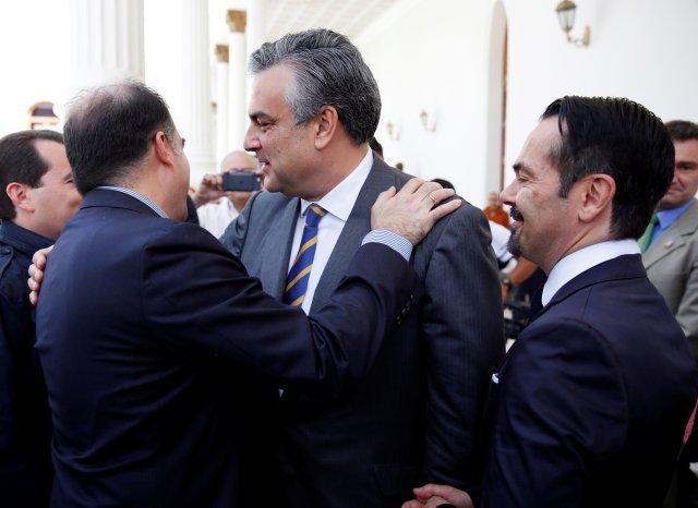 El embajador francés en Caracas, Romain Nadal. REUTERS/Carlos Garcia Rawlins