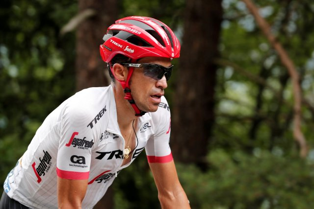 El ciclista español Alberto Contador. REUTERS/Benoit Tessier - File Photo