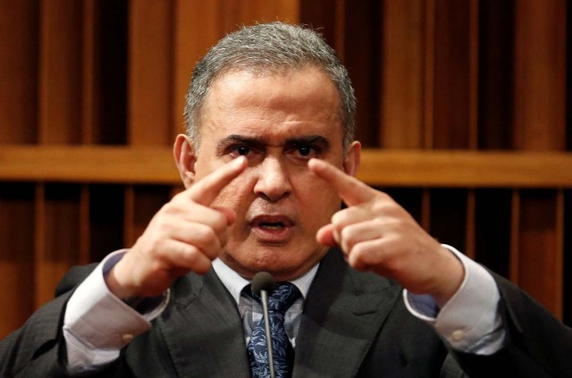 Venezuela's new chief prosecutor Tarek William Saab attends a news conference in Caracas, Venezuela August 7, 2017. REUTERS/Andres Martinez Casares