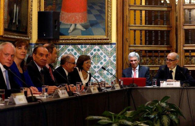 Cancilleres de 17 países evalúan condena a Venezuela por ruptura democrática. REUTERS/Mariana Bazo