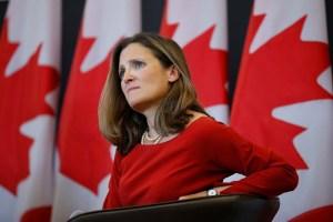 Canadá impone nuevas sanciones a 14 funcionarios del régimen de Maduro