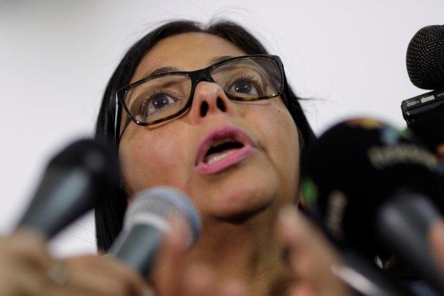 Delcy Eloína Rodríguez (Foto: REUTERS/Ueslei Marcelino)