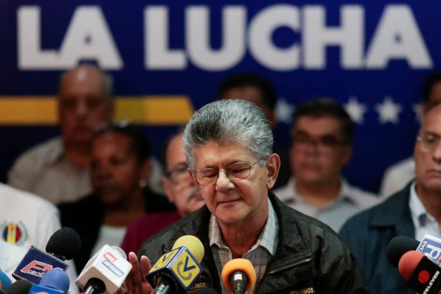 Henry Ramos Allup (REUTERS/Marco Bello)