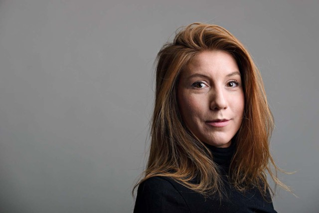 "A photo of Swedish journalist Kim Wall who was aboard a submarine ""UC3 Nautilus"" before it sank. TT NEWS AGENCY/ Tom Wall Handout via REUTERS ATTENTION EDITORS - THIS IMAGE WAS PROVIDED BY A THIRD PARTY. SWEDEN OUT. NO COMMERCIAL OR EDITORIAL SALES IN SWEDEN. NO COMMERCIAL SALES. MANDATORY CREDIT"