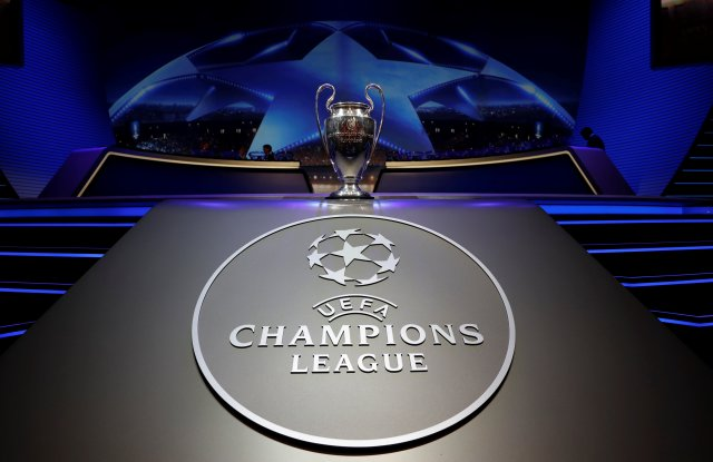 Soccer Football - Champions League Group Stage Draw - Monaco - August 24, 2017   General view of the Champions League trophy ahead of the draw   REUTERS/Eric Gaillard