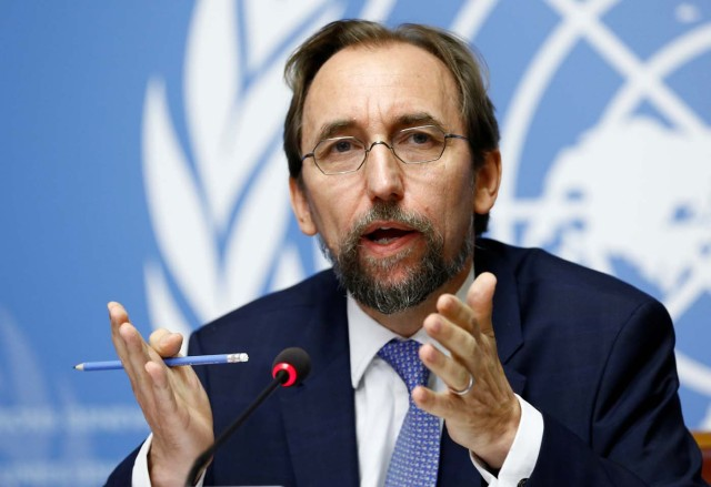 Zeid Ra'ad Al Hussein, U.N. High / REUTERS/Denis Balibouse