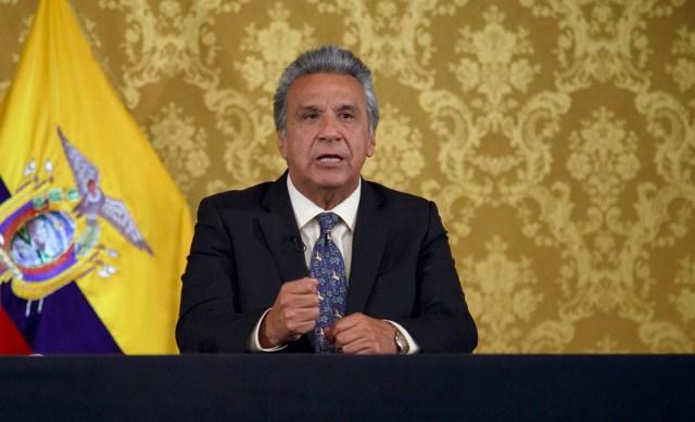 ARCHIVO/ EFE/PRESIDENCIA DE ECUADOR/SOLO USO EDITORIAL