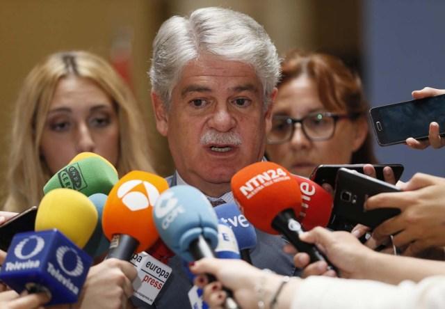 El ministro de Asuntos Exteriores de España, Alfonso Dastis (Foto EFE/MARISCAL)