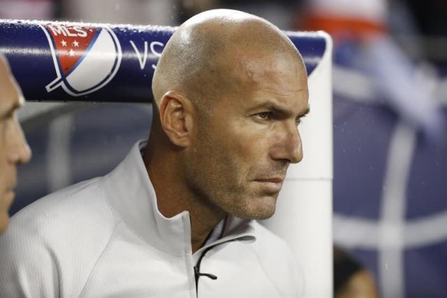 El entrenador del Real Madrid, Zinedine Zidane (Foto: EFE)