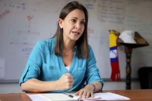 María Corina dice que reconocer la constituyente cubana sería traicionar la lucha ciudadana