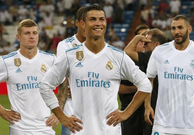 El portugués Cristiano Ronaldo (Foto: EFE)