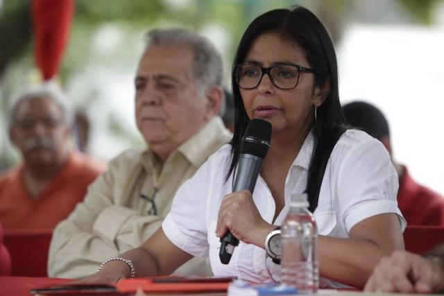 La presidenta de la ANC, Delcy Rodríguez (Foto: EFE)