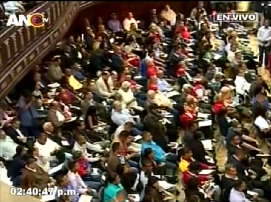 Foto: Tercera sesión de la ANC / ANTV
