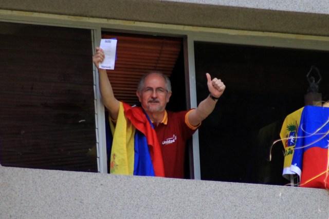 Alcalde Antonio Ledezma