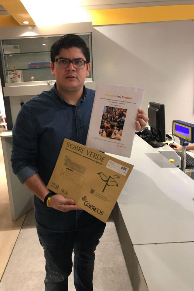 Arlen Barrera, Coordinador VP España