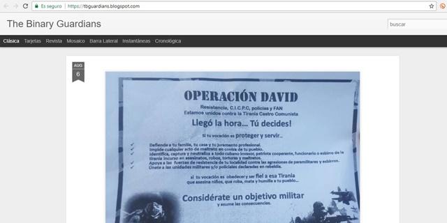 Captura del sitio web www.cantv.com.ve