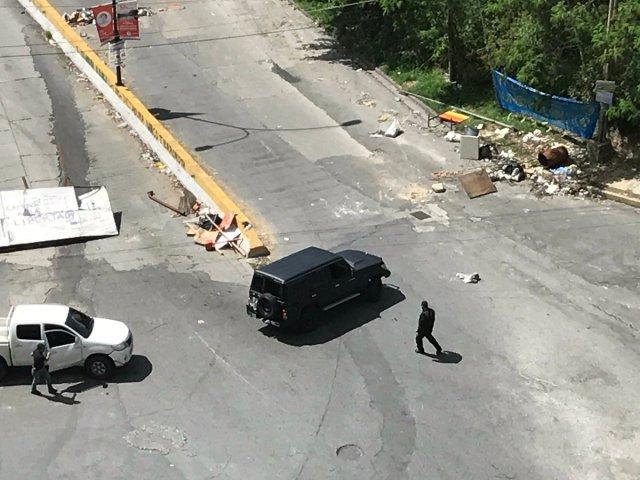 Sujetos Armados dispararon contra manifestantes en inmediaciones de Casa Mall. Foto: @ReiDiaz