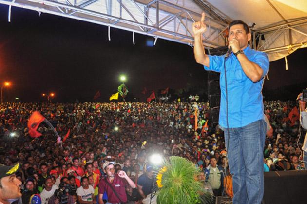 Warner Jiménez fue elegido alcalde por la mayoría de los maturineses el 8 de diciembre de 2013