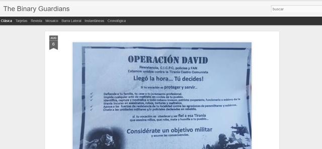 Captura del sitio web WWW,FONA.GOB.VE