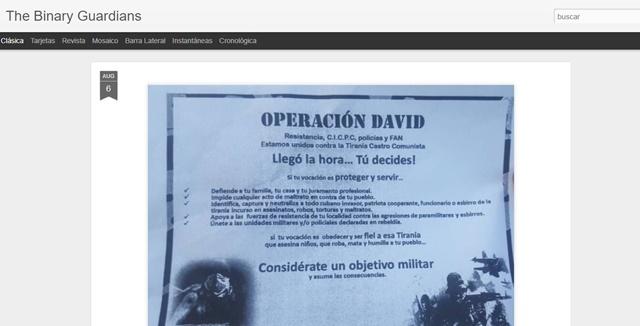 Captura del sitio web WWW.INTT.GOB.VE