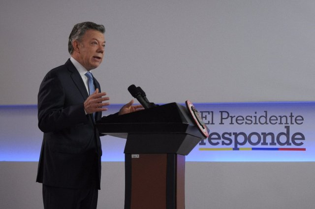Juan Manuel Santos / Foto vía @JuanManSantos