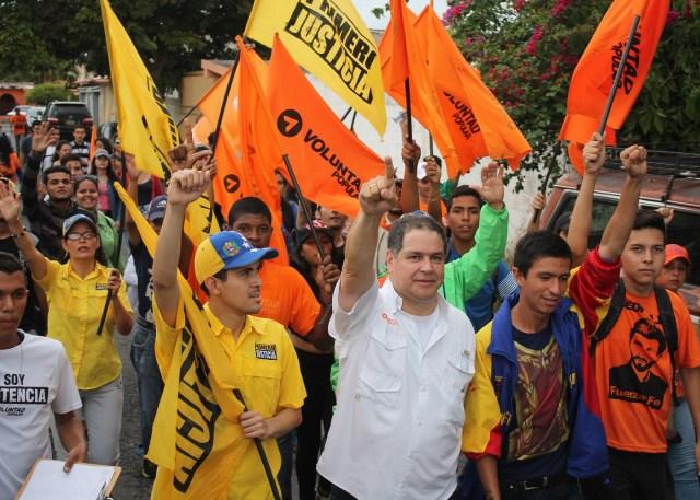 El candidato a la gobernación del estado Lara, Luis Florido