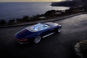 ¡Que carro tan hermoso!… este es el lujosísimo concepto Mercedes-Maybach 6 Cabriolet (FOTOS + VIDEO)