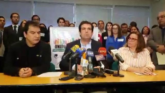 Alfredo Romero, afirmó que en Venezuela se está violando el derecho a la tranquilidad del pueblo y a la participación política. / Foto vía Periscope
