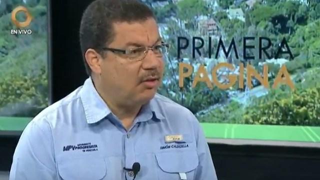 Simón Calzadilla. Foto Nota de Prensa Simón Calzadilla