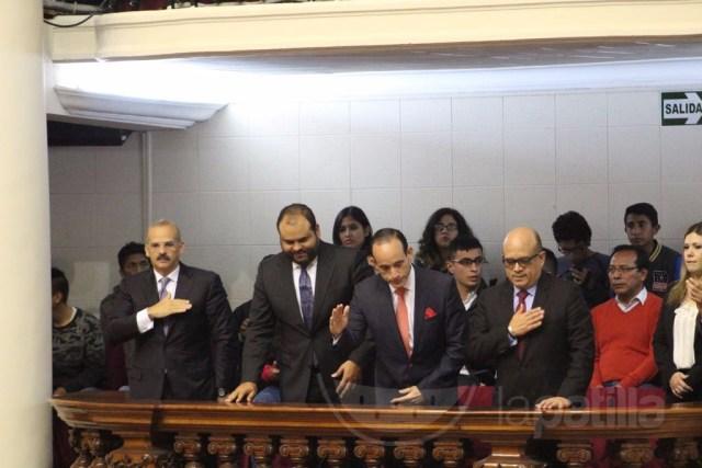 Magistrados designados por la AN participan en el Congreso de Perú