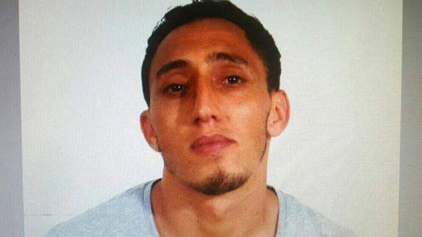 Driss Oukabir Soprano, se presentó ante la policía y dijo que le robaron sus documentos. (Infobae)